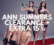 Ann Summers CLEARANCE LINGERIE under £10 + Extra 15% Off at Checkout!
