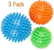 3 x Physio Spiky Massage Ball