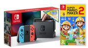NINTENDO Switch Neon with £30 eShop Credit & Super Mario Maker 2 Only £299