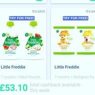 Free Little Freddies Baby Food Pouches on Greenjinn App