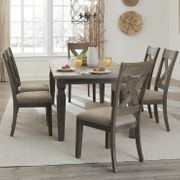 Furniture Eileen Extending Dining Room Table + 6 Chairs