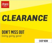 Argos Clearance - Don't Miss Out!