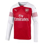 Arsenal FC Football Shirt Long Sleeved Mens