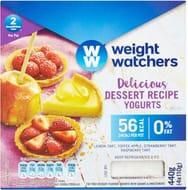 Weight Watchers Dessert Recipe Yogurts 4 X 110g 2 for £1.50