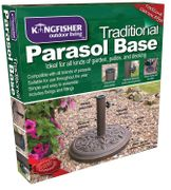 Kingfisher 9kg Cast Iron Effect Parasol Base **4.5 STARS** - 36% Off