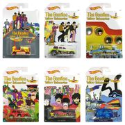 Hot Wheels the Beatles Yellow Submarine Limited Edition Set of 6 Diecast
