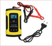 12V 6A Pulse Repair LCD Battery Charger for Car Motorcycle