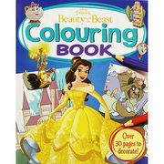 Disney Princess - Beauty and the Beast Colouring Book