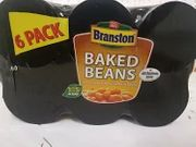 12 Cans 2x6 Packs of Branston Baked Beans at Farmfoods