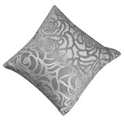 Sanwood Throw Pillow Case Square Cushion Cover Shell Car Home (Silver Gray)