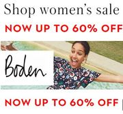 Boden SALE - up to 60% off Womens, Mens, & Kids