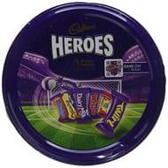 Tin of 800g Cadbury Hereos Premier League Edition £2