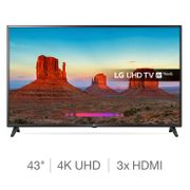 LG 43UK6200PLA 4K Ultra HD HDR Smart TV