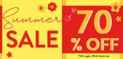 SUMMER SALE at Sass & Belle - up to 70% Off