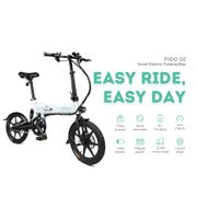 FIIDO D2 Smart Folding Moped Electric Bike Bicycle Double Disc Brakes Awesome