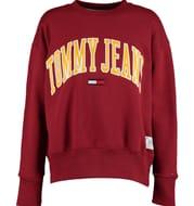 TOMMY HILFIGER Red Branded Sweatshirt