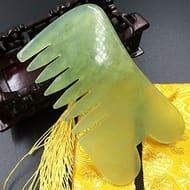 Jade Gua Sha Scraping Massage Comb FREE DELIVERY