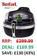 SAVE £130 - Tefal ActiFry, Air Fryer, 2-in-1, (6 Portions), 1.5 Kg