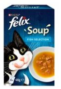 Felix Soup Fish Selection 6 X 48g £0.22 at Morrisons