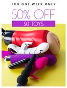 50% off 50 Toys!