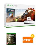 1TB XBOX ONE S with FORZA HORIZON 4 + FALLOUT 4 and NOW TV Only £249