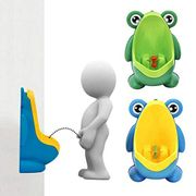 Boys Urinal Potty Training Wall Mounted Frog Shape Urinal Potty Pee Trainer