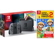 NINTENDO Switch Grey with £30 eShop Credit & Super Mario Maker 2 Only £309