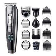 HATTEKER Beard Trimmer for Men Cordless Mustache Body Trimmer Hair
