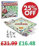 RENT! Monopoly Board Game (The Classic London Version)
