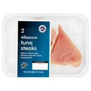 New England Seafood 2 Albacore Tuna Steaks220g 3 for £10