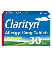 Clarityn Allergy 10mg Tablets 30 Tablets