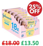 Johnson's Baby Extra Sensitive Fragrance Free Wipes (1008 Wipes)