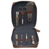 Hawick Leather Mens Manicure Set