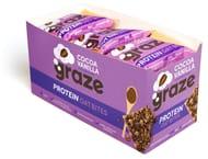 Graze Cocoa Vanilla & Oats Vegan Protein Bites 30 Grams (Pack of 15) Add on Item