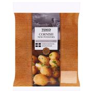 Tesco Cornish New Potatoes 750G - Better than Half Price