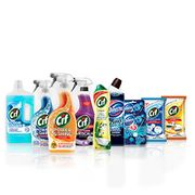 Cif and Domestos Ultimate Student Cleaning Kit, 10 Items