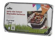 Wilko PARTY SIZE Disposable BBQ