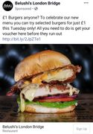£1 Burgers