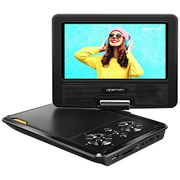 APEMAN Portable DVD Player, 7.5'' for Kids and Car Swivel Screen Support