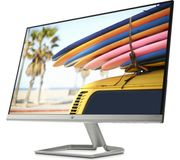 """HP 24fw with Audio Full HD 24"""" IPS LCD Monitor - White at Currys"""