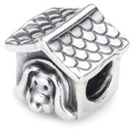Pandora Unisex Sterling Silver Dog Charm (Normally around £50)
