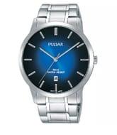 Pulsar Mens Stainless Steel Bracelet Watch