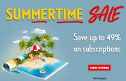 Save up to 49% on Magazine Subscriptions - Choose from 40 Popular Titles!