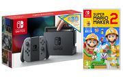 NINTENDO Switch Grey with £30 eShop Credit & Super Mario Maker 2 Only £299