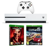 MICROSOFT Xbox One S, Tekken 7 & Project Cars 2 Bundle-1 TB Only £219