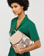 Paisley Print Quilted Backpack