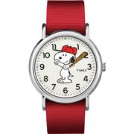 Timex Peanuts Weekender Watch TW2R41400