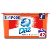 Daz Whites and Colours Liquitabs 42 Washes