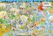 Gibsons London from above Jigsaw Puzzle, 500 Piece by Gibsons