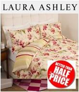 Laura Ashley - Cranberry Print Bedset